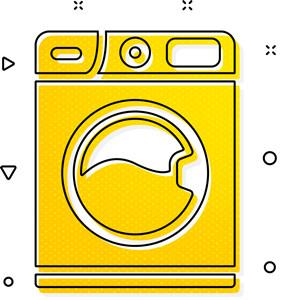 happy laundry washing machine